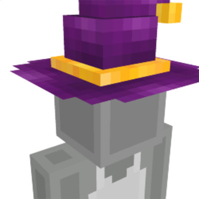Wizard Hat on the Minecraft Marketplace by Double DJ Studios