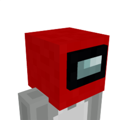 Imposter Helmet on the Minecraft Marketplace by Logdotzip