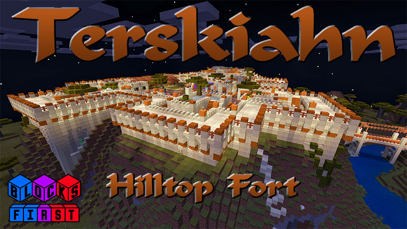 Terskiahn Hilltop Fort on the Minecraft Marketplace by Blocks First