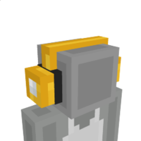 Lucky Block Headphones on the Minecraft Marketplace by BLOCKLAB Studios