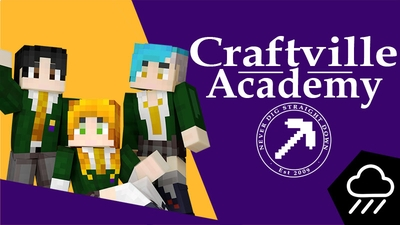 Craftville Academy on the Minecraft Marketplace by Rainstorm Studios