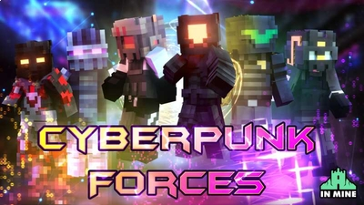 Cyberpunk Forces on the Minecraft Marketplace by In Mine