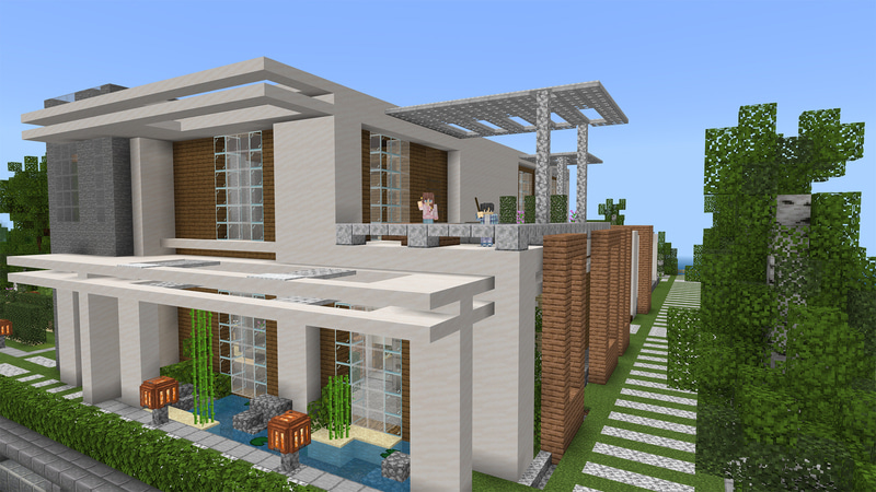 Upgradable Modern Mansion by Octovon