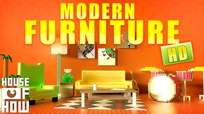 Modern Furniture HD on the Minecraft Marketplace by House of How