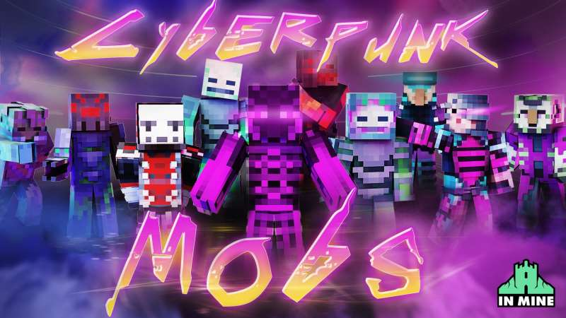 Cyberpunk Mobs on the Minecraft Marketplace by In Mine