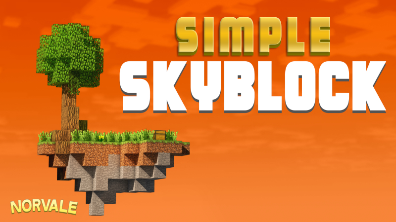 Simple Skyblock on the Minecraft Marketplace by Norvale