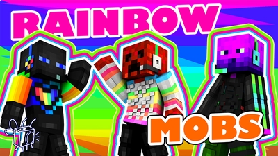 Rainbow Mobs on the Minecraft Marketplace by Blu Shutter Bug