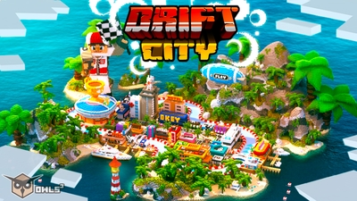 Drift City on the Minecraft Marketplace by Owls Cubed