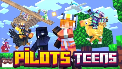 Pilots Teens on the Minecraft Marketplace by Diluvian