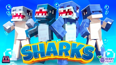Sharks on the Minecraft Marketplace by Razzleberries