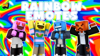 Rainbow Emotes on the Minecraft Marketplace by Mineplex