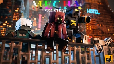 Mecha Monsters on the Minecraft Marketplace by Block Factory