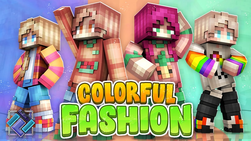 Colorful Fashion on the Minecraft Marketplace by PixelOneUp