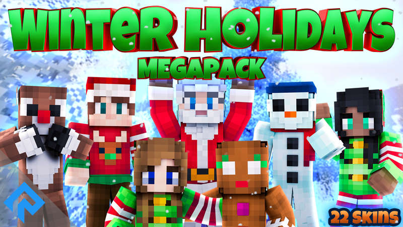 Winter Holidays Mega Pack on the Minecraft Marketplace by RareLoot