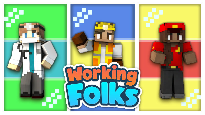 Working Folk on the Minecraft Marketplace by Impulse