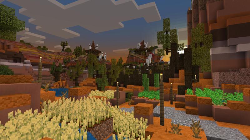 Badlands Village by BLOCKLAB Studios