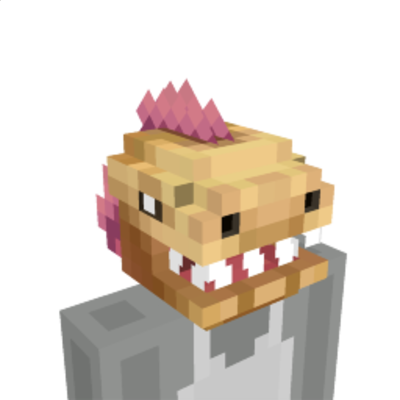 Epic Dinosaur Head on the Minecraft Marketplace by Glowfischdesigns