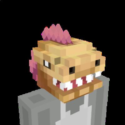 Epic Dinosaur Head on the Minecraft Marketplace by Glowfischdesigns