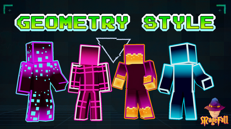 Geometry Style on the Minecraft Marketplace by Magefall
