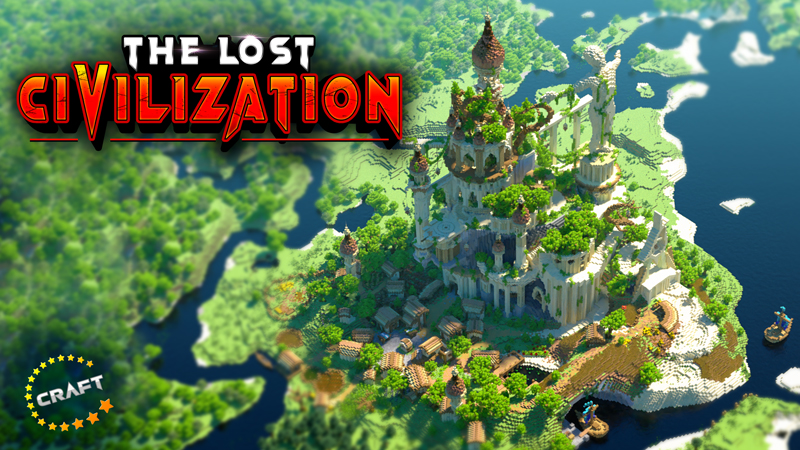 The Lost Civilization on the Minecraft Marketplace by The Craft Stars