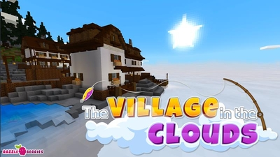 The Village in the Clouds on the Minecraft Marketplace by Razzleberries