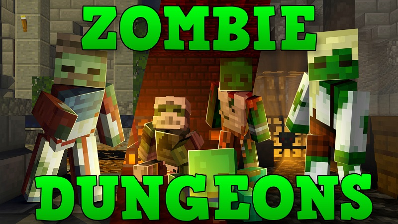 Zombie Dungeons on the Minecraft Marketplace by Nitric Concepts