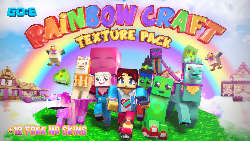Rainbow Craft on the Minecraft Marketplace by GoE-Craft
