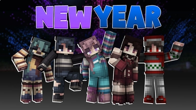 New Year on the Minecraft Marketplace by Dig Down Studios