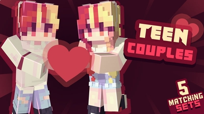 Teen Couples Skin Pack on the Minecraft Marketplace by Ninja Squirrel Gaming