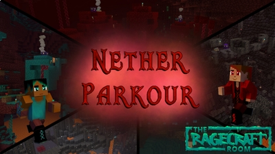 Nether Parkour on the Minecraft Marketplace by The Rage Craft Room
