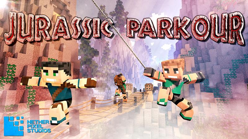 Jurassic Parkour on the Minecraft Marketplace by Netherpixel