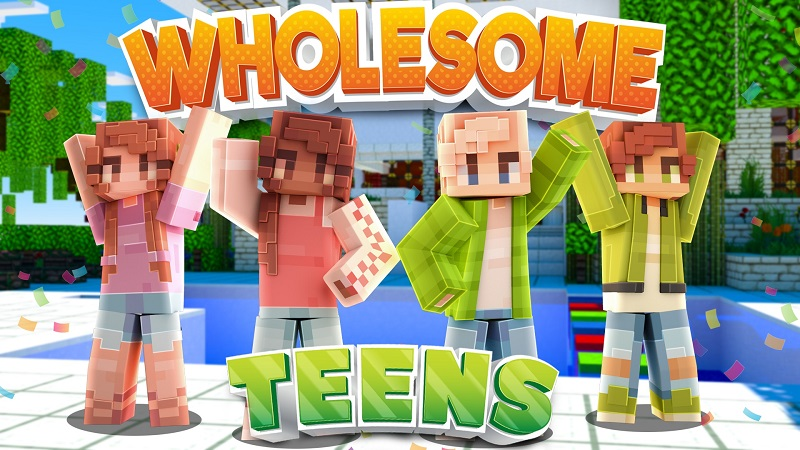Wholesome Teens on the Minecraft Marketplace by 4KS Studios