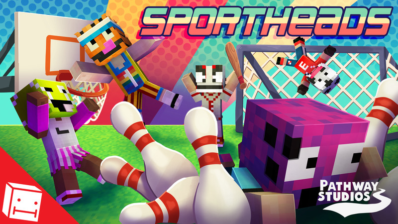 SportHeads on the Minecraft Marketplace by Pathway Studios