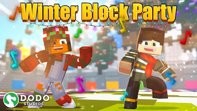 Winter Block Party on the Minecraft Marketplace by Dodo Studios