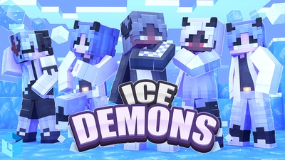 Ice Demons on the Minecraft Marketplace by Entity Builds