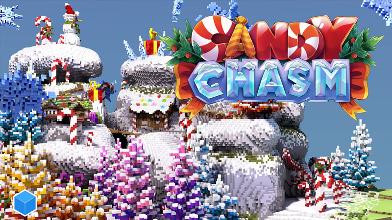 Candy Chasm on the Minecraft Marketplace by CubeCraft Games