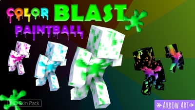 Color Blast Paintball on the Minecraft Marketplace by Arrow Art Games