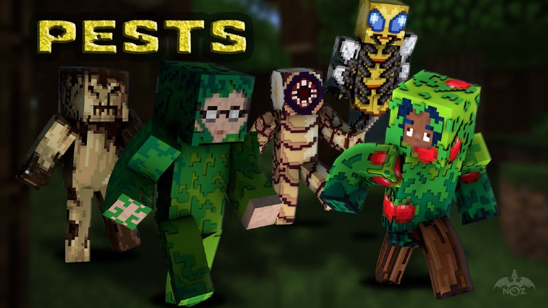Pests on the Minecraft Marketplace by Dragnoz