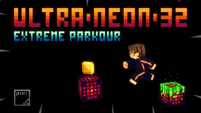 ULTRA NEON 32 Extreme Parkour on the Minecraft Marketplace by Piki Studios