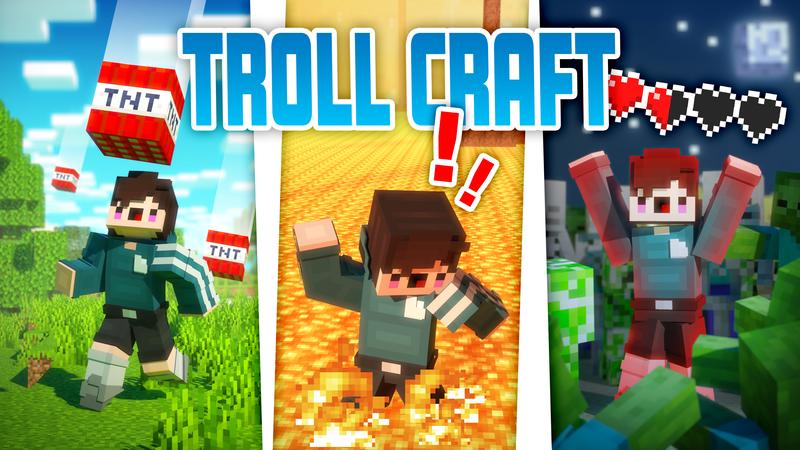 Trollcraft on the Minecraft Marketplace by Cubed Creations