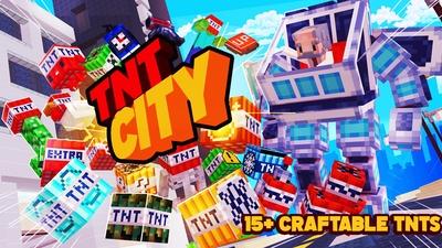 TNT City on the Minecraft Marketplace by Kubo Studios
