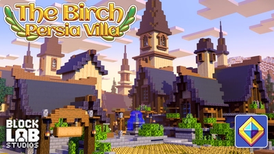 The Birch Persia Villa on the Minecraft Marketplace by BLOCKLAB Studios