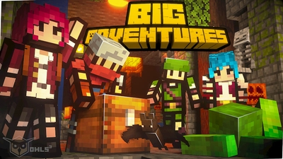 Big Adventures on the Minecraft Marketplace by Owls Cubed