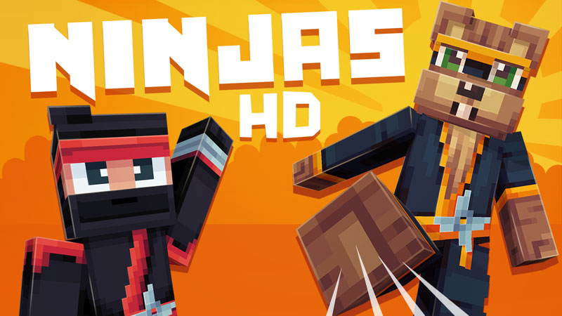 Ninjas HD on the Minecraft Marketplace by Ninja Squirrel Gaming