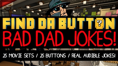 Find Da Button Bad Dad Jokes on the Minecraft Marketplace by Giggle Block Studios