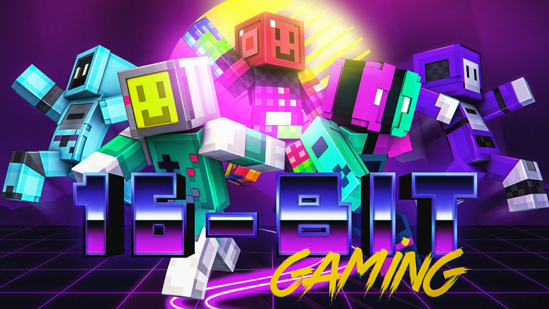 16Bit Gaming on the Minecraft Marketplace by Blockception