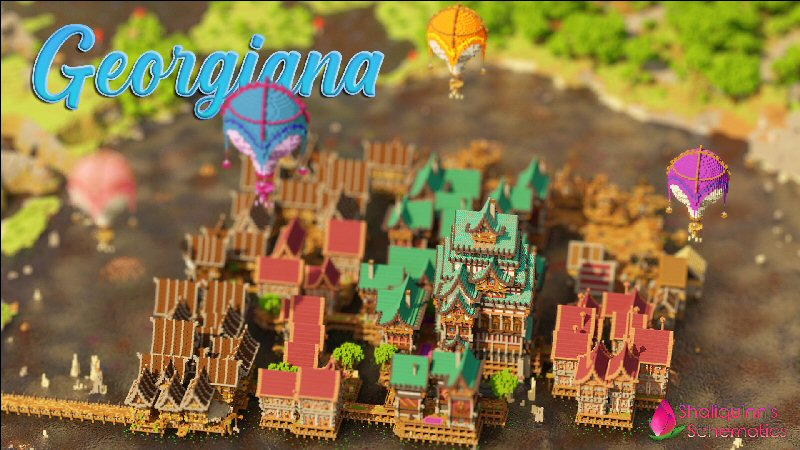 Georgiana on the Minecraft Marketplace by Shaliquinn's Schematics
