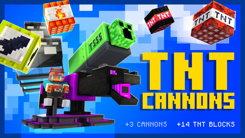 TNT Cannons on the Minecraft Marketplace by BLOCKLAB Studios