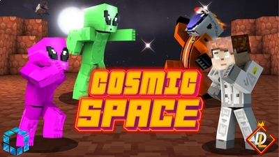 Cosmic Space on the Minecraft Marketplace by UnderBlocks Studios