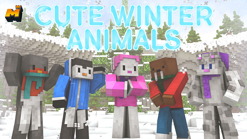 Cute Winter Animals on the Minecraft Marketplace by Mineplex